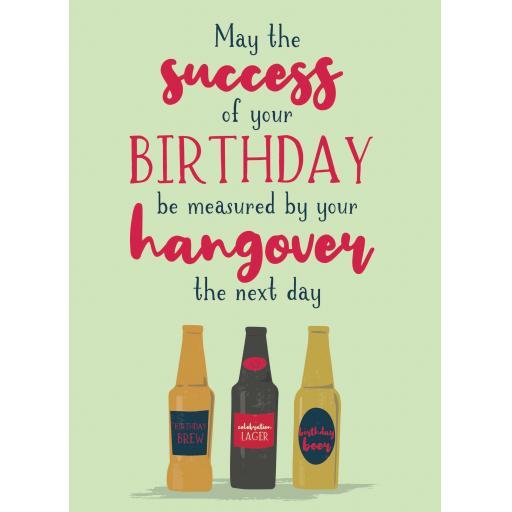 Just Saying Card - Birthday Success