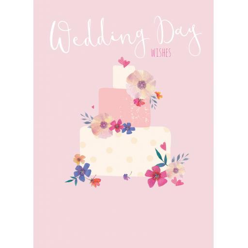 Wedding Card - Wedding Cake