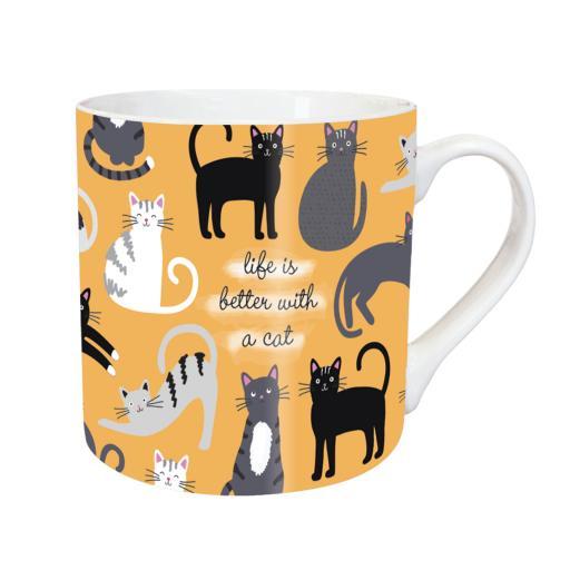 Tarka Mugs - Playful Cats
