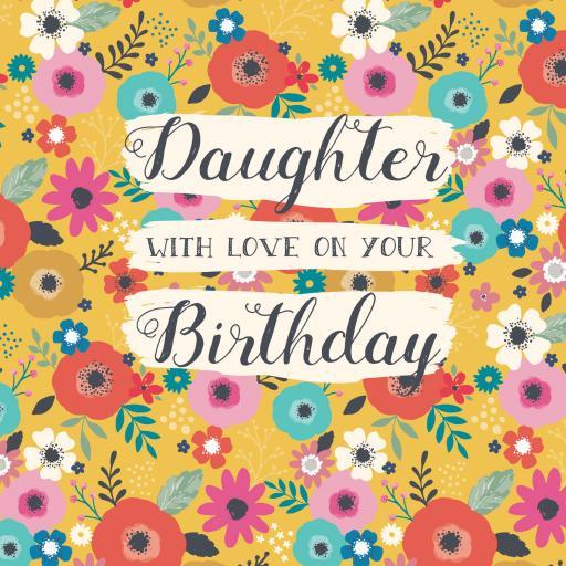 Family Circle Card - Bohemia Floral (Daughter)
