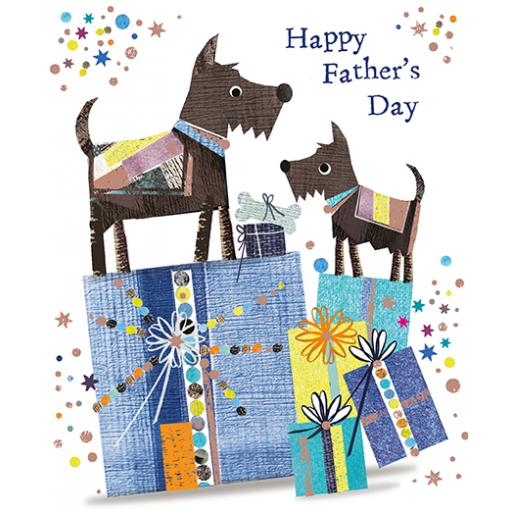 Fathers Day Card - Dogs