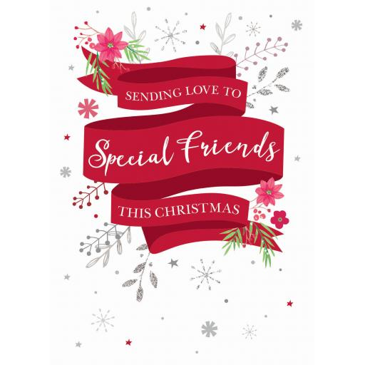 Christmas Card (Single) - Special Friends