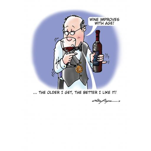 The Wine Buffs Card Collection - Improves With Age