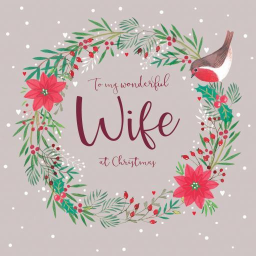Christmas Card (Single) - Wife