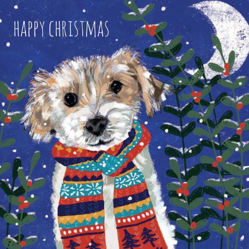 Charity Christmas Card Pack - Christmas Pups