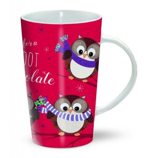 Chocolatte Mugs - Cosy Winter Owls