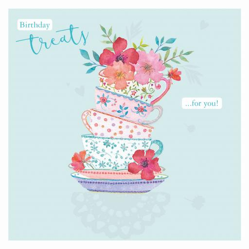 Say It With Flowers - Floral Teacups