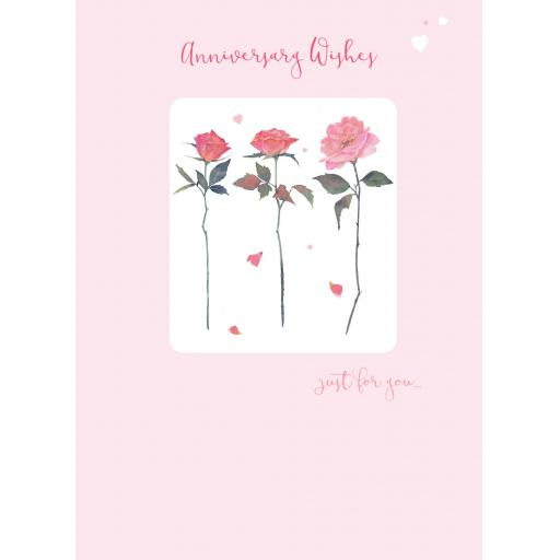 Anniversary Card - Anniversary Roses