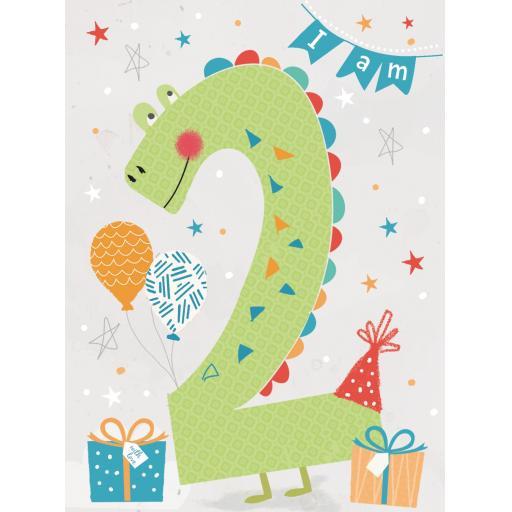 Rainbow Pops Card Collection - Crocodile (Age 2)