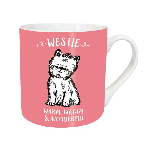 Tarka Mugs - Waggy Westie