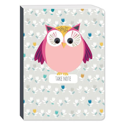 Little Owls Stationery - A6 Chunky Notebook