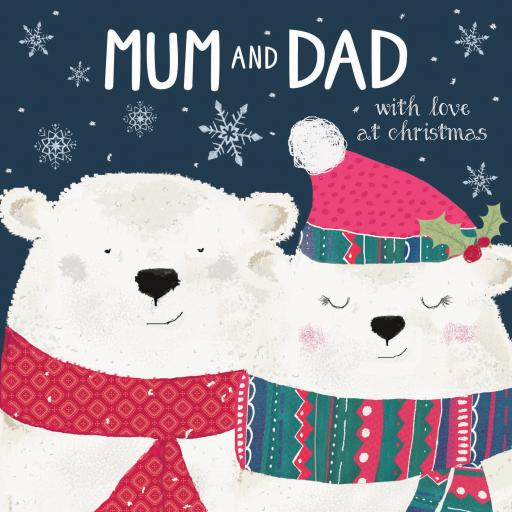 Christmas Card (Single) - Mum & Dad