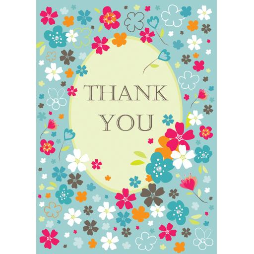 Notecard Pack - Thank You Flowers