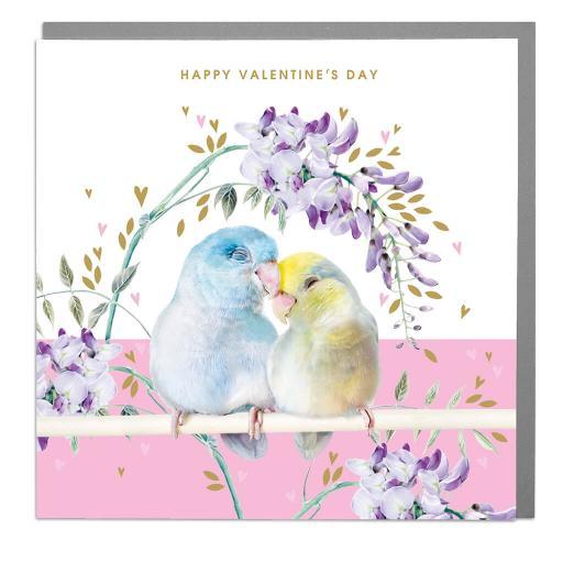 Valentines Day Card - Love Birds
