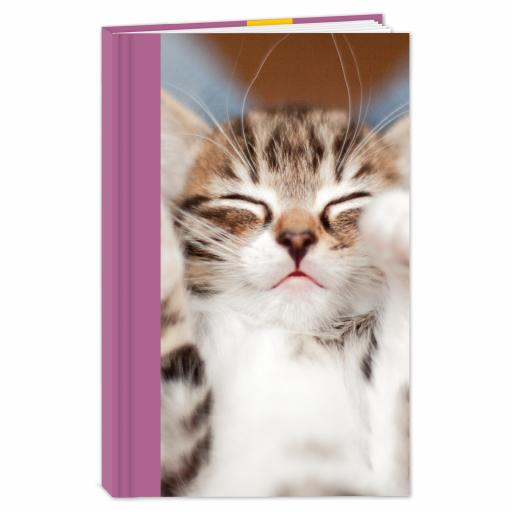 Cats Protection Stationery - Hardcover Notebook (A5) Tabby Kitten