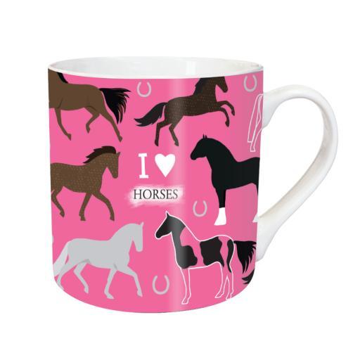 Tarka Mugs - I Love Horses