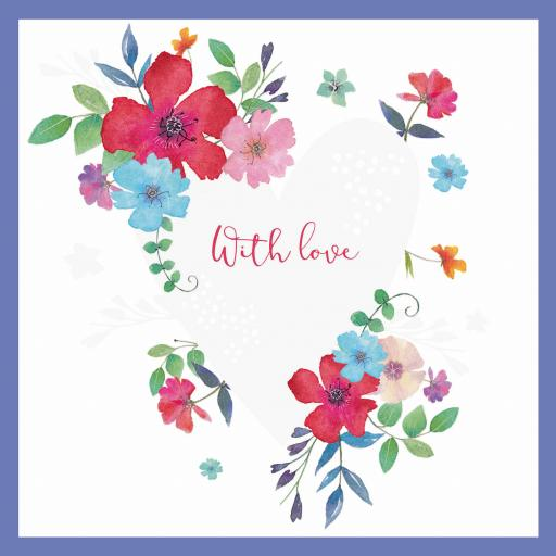 Say It With Flowers - Floral Heart
