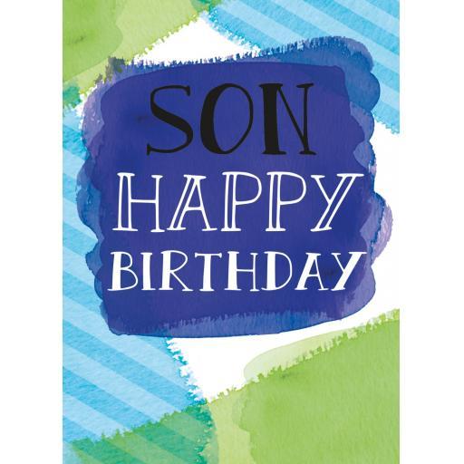 Family Circle Card - Son