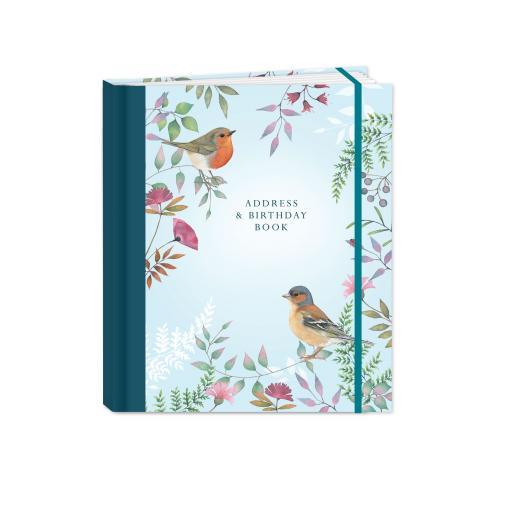 Vintage Garden Stationery - A5 Address Book