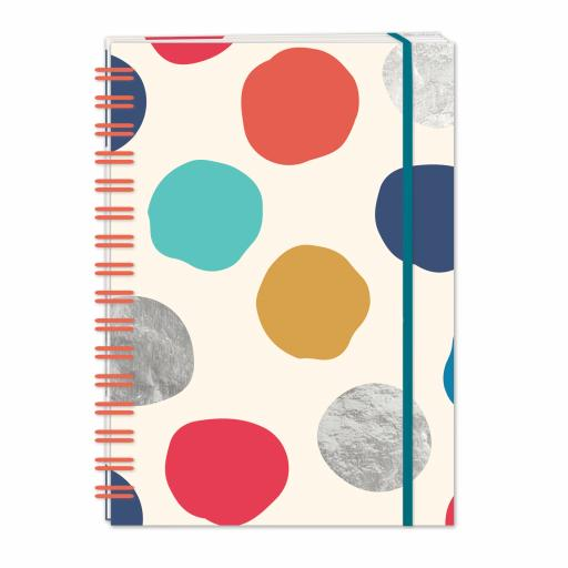 Bohemia Stationery - A5 Hardcover Notebook - Dots