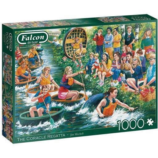 The Coracle Regatta 1000 Piece Jigsaw