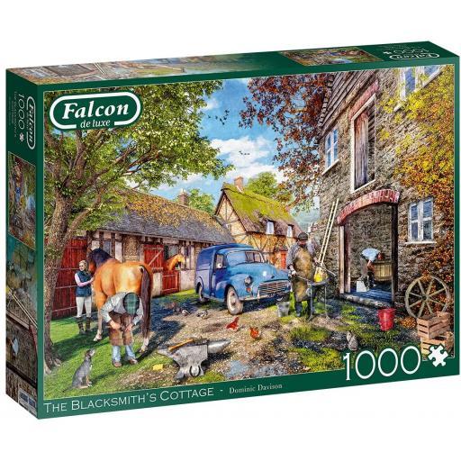 The Blacksmiths Cottage 1000 Piece Jigsaw