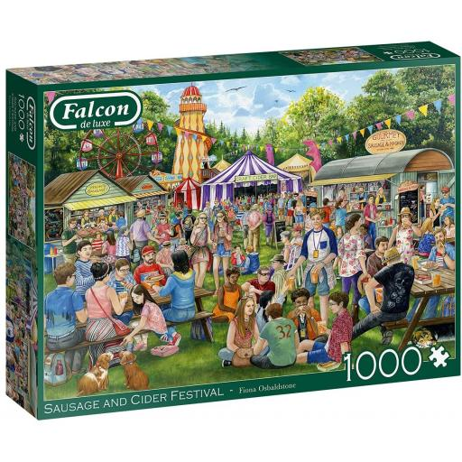The Sausage and Cider Festival 1000 Piece Jigsaw