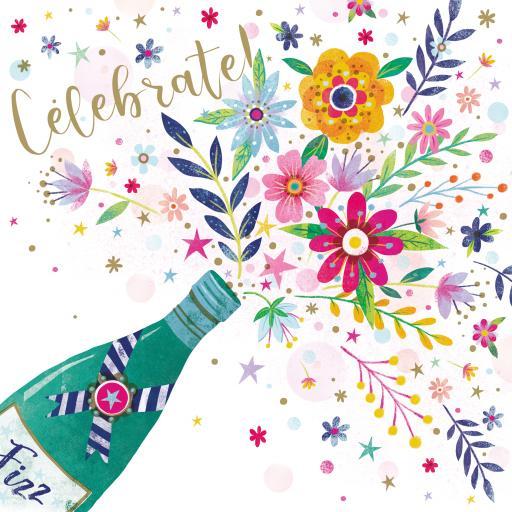 Flower Festival Card Collection - Celebration Fizz