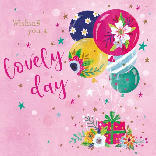 Flower Festival Card Collection - Balloon Floral