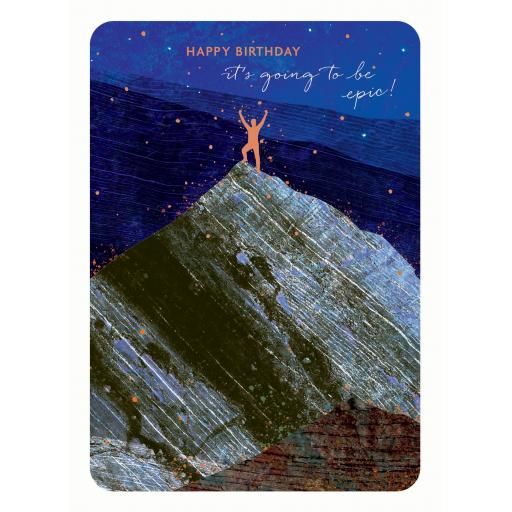 Midnight Wishes Card Collection - Climber
