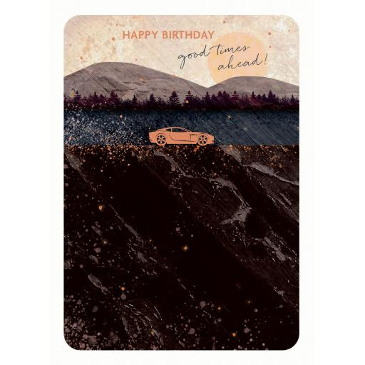 Midnight Wishes Card Collection - Sports Car