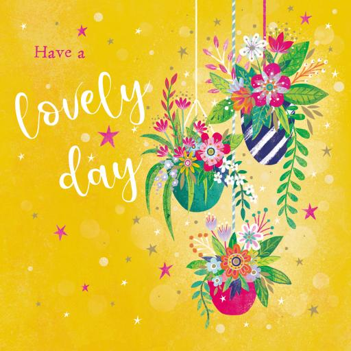 Flower Festival Card Collection - Hanging Baskets