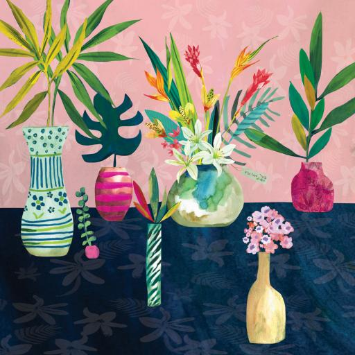 Fusion Card Collection - Tropical Vases