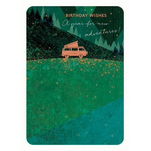 Midnight Wishes Card Collection - Camping