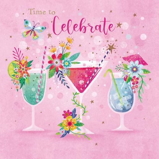 Flower Festival Card Collection - Cocktails