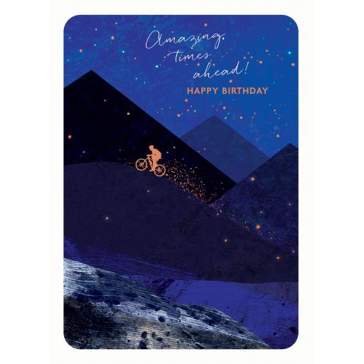 Midnight Wishes Card Collection - Cycling