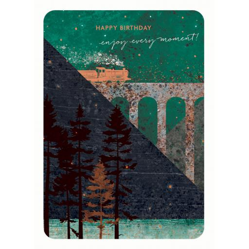 Midnight Wishes Card Collection - Train