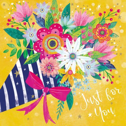 Flower Festival Card Collection - Bouquet