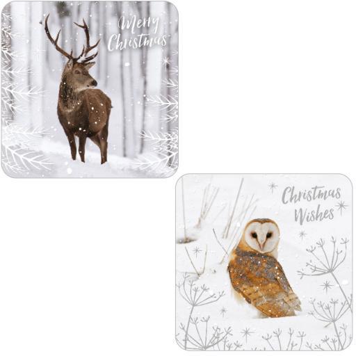 RSPB Luxury Christmas Card Pack - Winter Wonder
