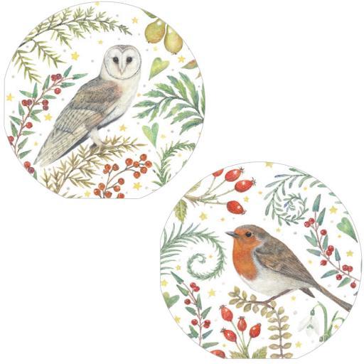 Luxury Christmas Card Pack - Winter Birds