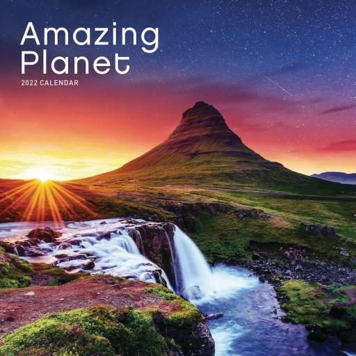 Amazing Planet Mini Wall Calendar 2022