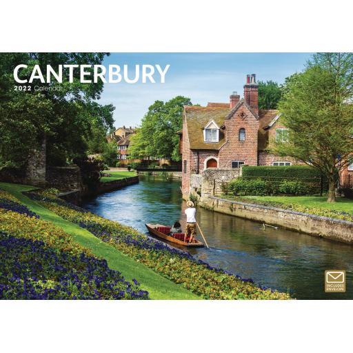 Canterbury A4 Calendar 2022