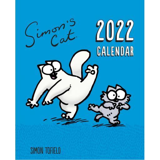 Simons Cat Easel Calendar 2022