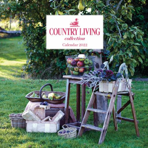 Country Living Wiro Wall Calendar 2022