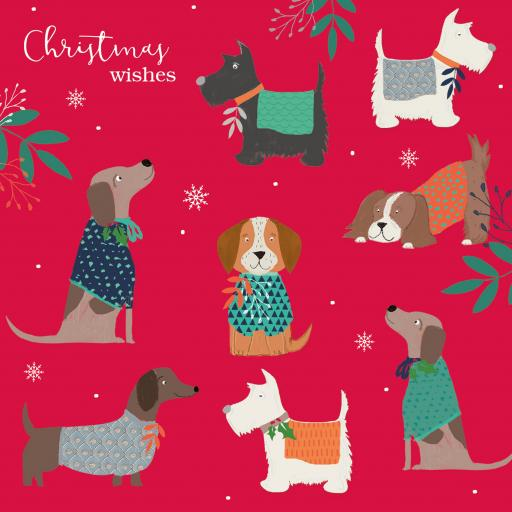 Charity Christmas Card Pack - Doggy Jumpers