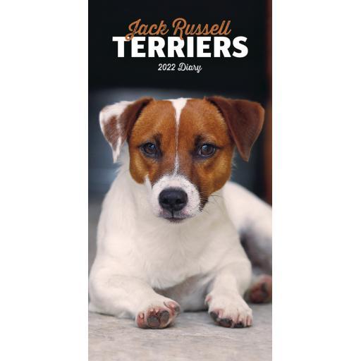 Jack Russell Terriers Slim Diary 2022