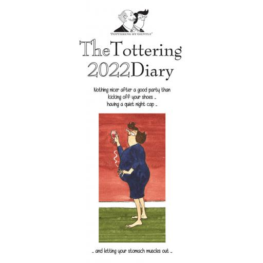 Tottering By Gently Slim Diary 2022