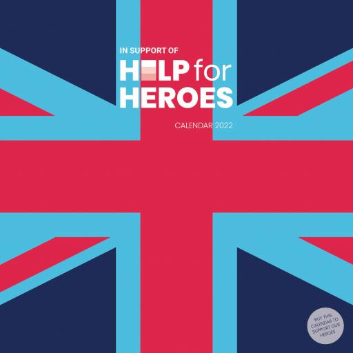 Help For Heroes WTV Wall Planner 2022