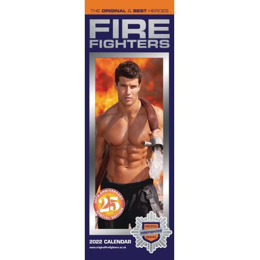 Firefighters Slim Calendar 2022