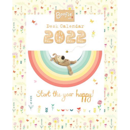 Boofle Easel Calendar 2022